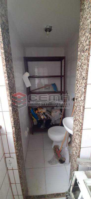 banheiro de serviço - Apartamento 2 quartos à venda Méier, Zona Norte RJ - R$ 169.000 - LAAP24123 - 19