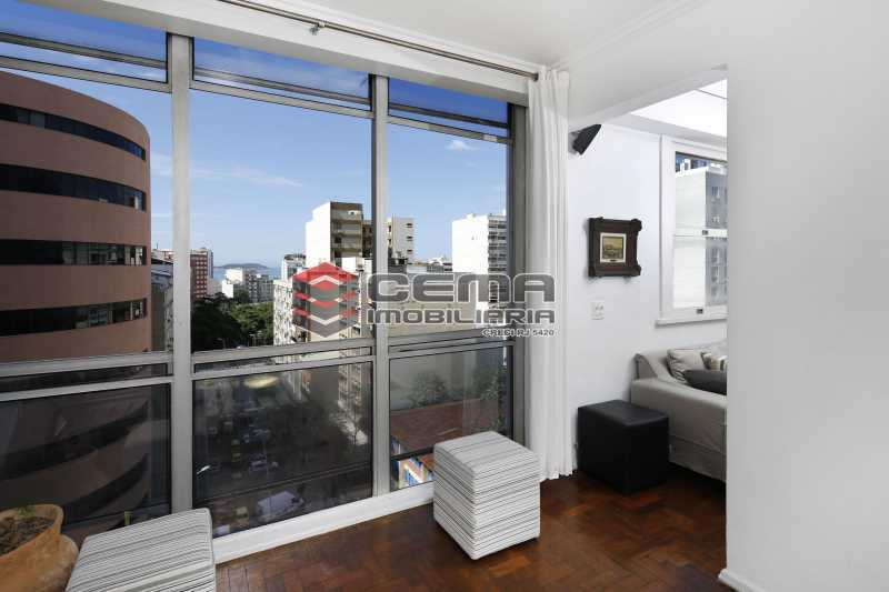 sala - Apartamento 2 quartos para alugar Ipanema, Zona Sul RJ - R$ 4.000 - LAAP24131 - 1