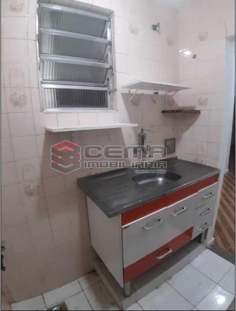 12 - Cozinha - Apartamento 1 Quarto À Venda Flamengo, Zona Sul RJ - R$ 398.000 - LAAP12336 - 13