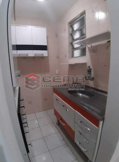 15 - Cozinha - Apartamento 1 Quarto À Venda Flamengo, Zona Sul RJ - R$ 398.000 - LAAP12336 - 16