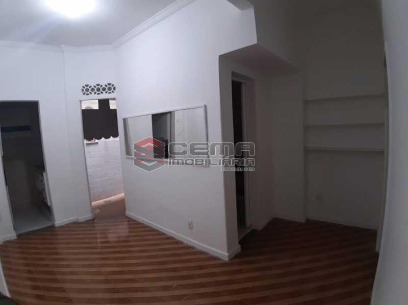 2 - Sala - Apartamento 1 Quarto À Venda Flamengo, Zona Sul RJ - R$ 398.000 - LAAP12336 - 3