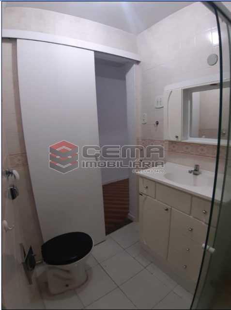 10 - Banheiro - Apartamento 1 Quarto À Venda Flamengo, Zona Sul RJ - R$ 398.000 - LAAP12336 - 11