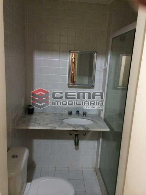 banheiro - Flat 1 quarto para alugar Botafogo, Zona Sul RJ - R$ 2.600 - LAFL10069 - 8