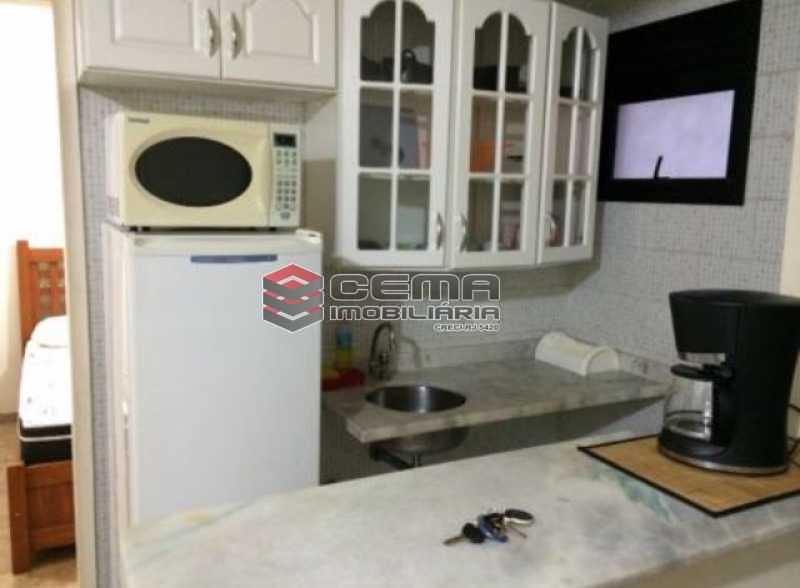 cozinha - Flat 1 quarto para alugar Botafogo, Zona Sul RJ - R$ 2.600 - LAFL10069 - 7