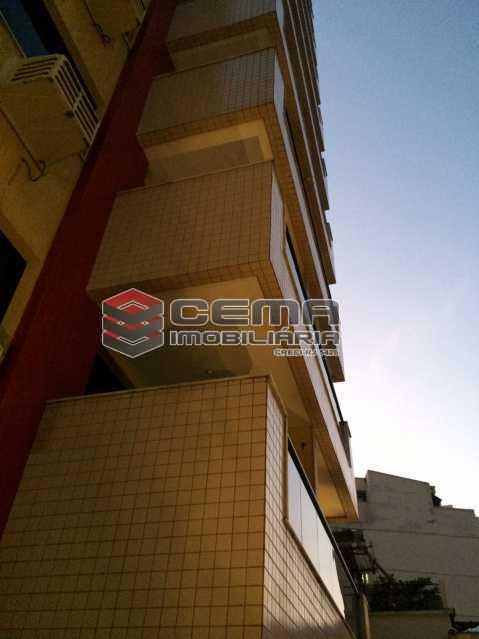 fachada - Flat 1 quarto para alugar Botafogo, Zona Sul RJ - R$ 2.600 - LAFL10069 - 13