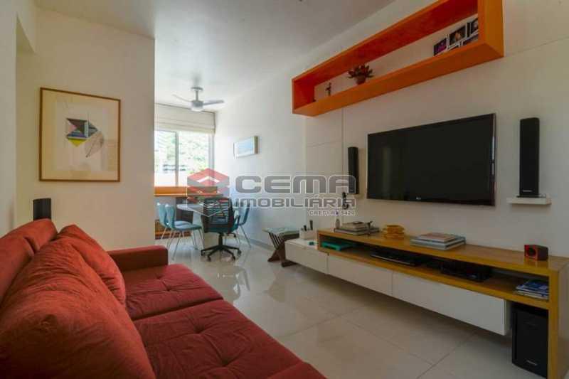 04a67b850082e5c930c0b1555a2f2d - Apartamento 1 quarto à venda Botafogo, Zona Sul RJ - R$ 650.000 - LAAP12380 - 1