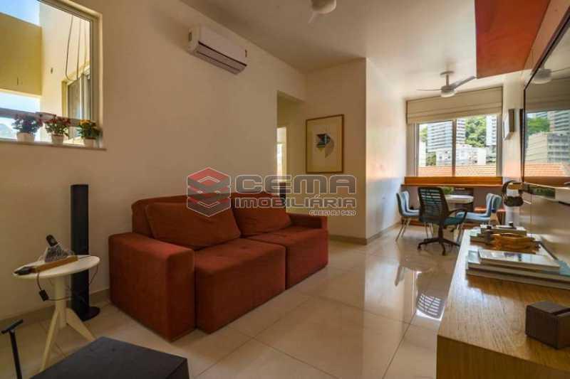 a52d4c3acb8e66cf06a61693ede856 - Apartamento 1 quarto à venda Botafogo, Zona Sul RJ - R$ 650.000 - LAAP12380 - 4