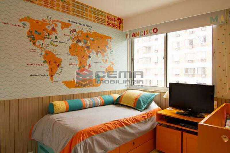quarto 1 - Apartamento à venda Rua Marquês de Abrantes,Flamengo, Zona Sul RJ - R$ 1.190.000 - LAAP33612 - 7