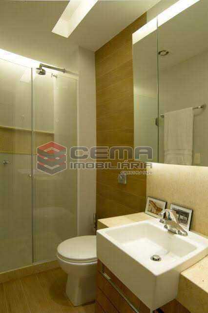 banheiro - Apartamento à venda Rua Marquês de Abrantes,Flamengo, Zona Sul RJ - R$ 1.190.000 - LAAP33612 - 10