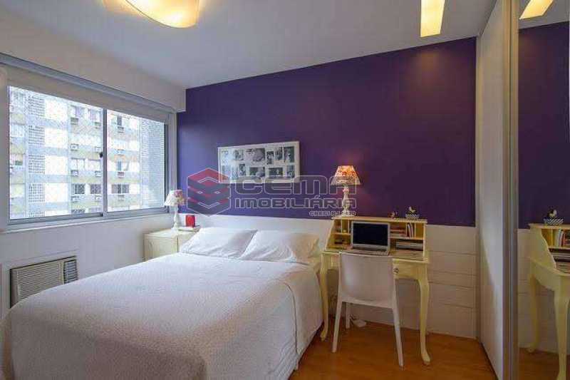 quarto 2 - Apartamento à venda Rua Marquês de Abrantes,Flamengo, Zona Sul RJ - R$ 1.190.000 - LAAP33612 - 8