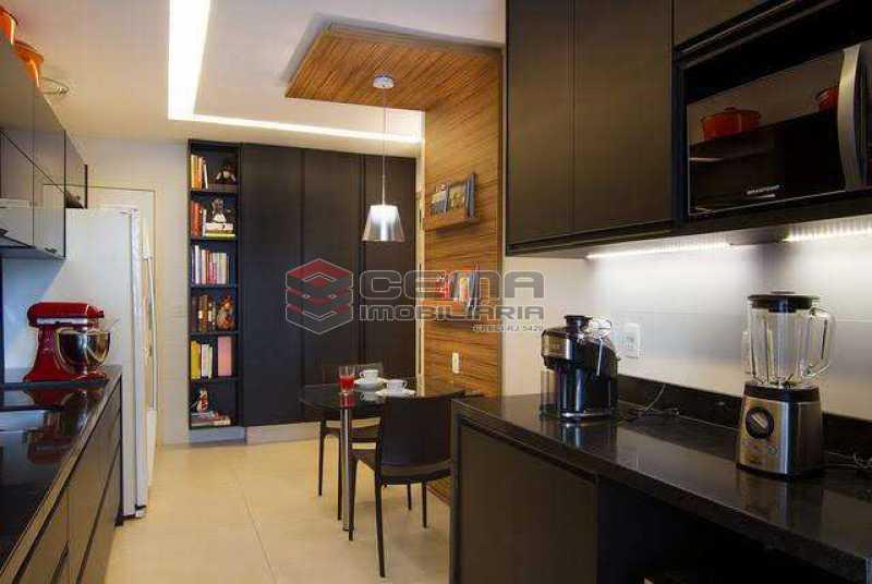 cozinha - Apartamento à venda Rua Marquês de Abrantes,Flamengo, Zona Sul RJ - R$ 1.190.000 - LAAP33612 - 13