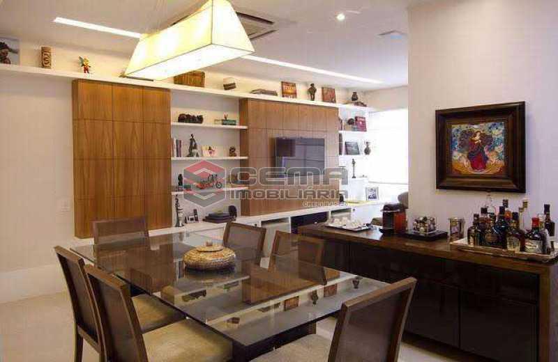 sala - Apartamento à venda Rua Marquês de Abrantes,Flamengo, Zona Sul RJ - R$ 1.190.000 - LAAP33612 - 3