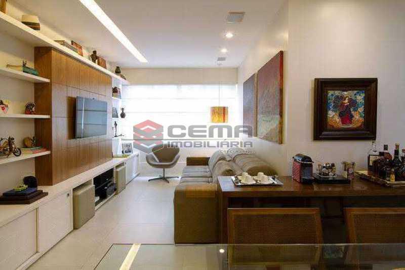 sala - Apartamento à venda Rua Marquês de Abrantes,Flamengo, Zona Sul RJ - R$ 1.190.000 - LAAP33612 - 1