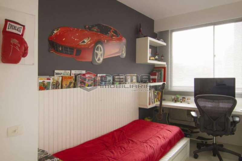 quarto 3 - Apartamento à venda Rua Marquês de Abrantes,Flamengo, Zona Sul RJ - R$ 1.190.000 - LAAP33612 - 9