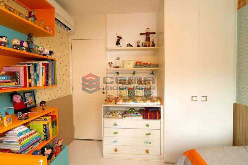 quarto 1 - Apartamento à venda Rua Marquês de Abrantes,Flamengo, Zona Sul RJ - R$ 1.190.000 - LAAP33612 - 6