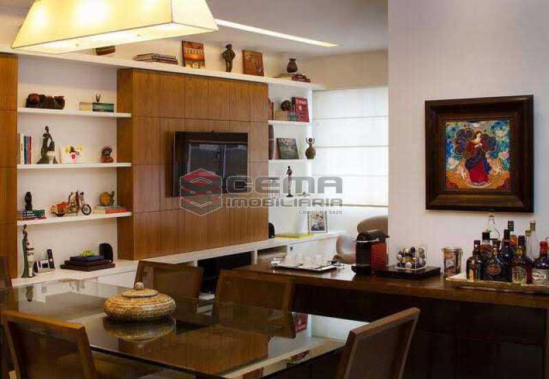 sala - Apartamento à venda Rua Marquês de Abrantes,Flamengo, Zona Sul RJ - R$ 1.190.000 - LAAP33612 - 4