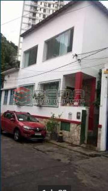 1 - Casa à venda Travessa Visconde de Morais,Botafogo, Zona Sul RJ - R$ 2.450.000 - LACA50043 - 3