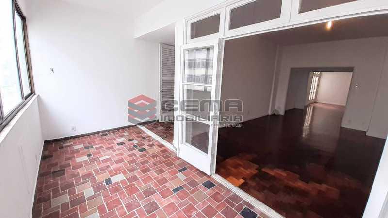 Varanda - Apartamento 3 quartos para alugar Copacabana, Zona Sul RJ - R$ 5.500 - LAAP33672 - 1