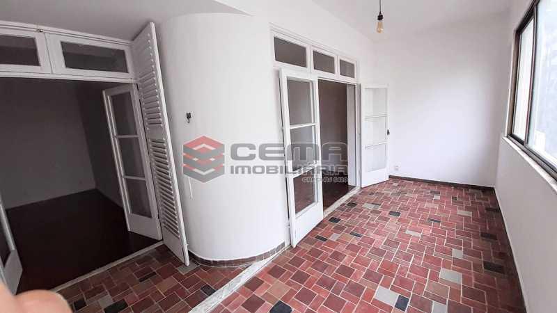 Varanda - Apartamento 3 quartos para alugar Copacabana, Zona Sul RJ - R$ 5.500 - LAAP33672 - 8