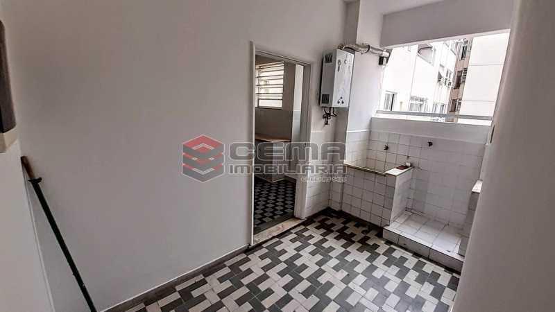 Área de Serviço - Apartamento 3 quartos para alugar Copacabana, Zona Sul RJ - R$ 5.500 - LAAP33672 - 22