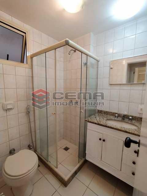 Banheiro social - Apartamento 3 quartos para alugar Jardim Botânico, Zona Sul RJ - R$ 3.200 - LAAP33689 - 17