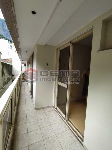 Varanda - Apartamento 3 quartos para alugar Jardim Botânico, Zona Sul RJ - R$ 3.200 - LAAP33689 - 3