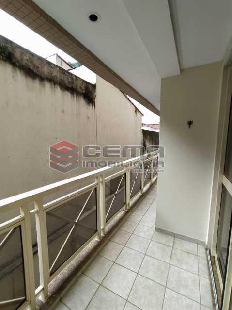 Varanda - Apartamento 3 quartos para alugar Jardim Botânico, Zona Sul RJ - R$ 3.200 - LAAP33689 - 28
