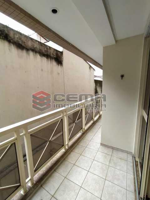 Varanda - Apartamento 3 quartos para alugar Jardim Botânico, Zona Sul RJ - R$ 3.200 - LAAP33689 - 26