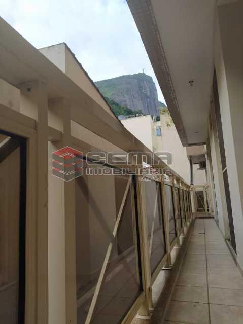 Varanda - Apartamento 3 quartos para alugar Jardim Botânico, Zona Sul RJ - R$ 3.200 - LAAP33689 - 25