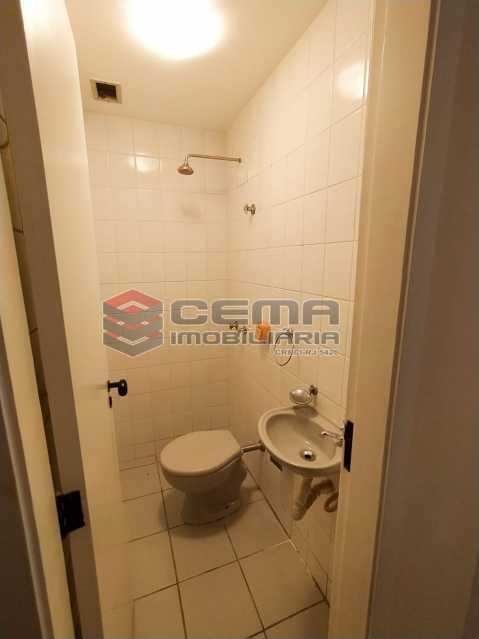 Banheiro de serviço - Apartamento 3 quartos para alugar Jardim Botânico, Zona Sul RJ - R$ 3.200 - LAAP33689 - 23