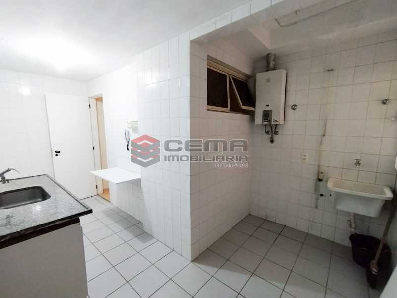 Area de serviço - Apartamento 3 quartos para alugar Jardim Botânico, Zona Sul RJ - R$ 3.200 - LAAP33689 - 24