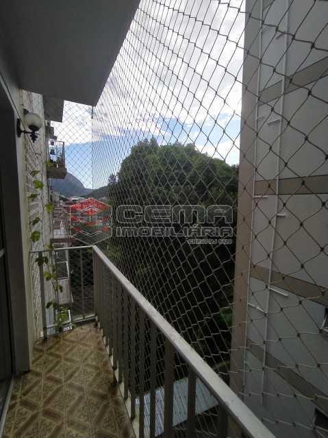 Varanda - Apartamento 2 quartos para alugar Jardim Botânico, Zona Sul RJ - R$ 2.400 - LAAP24313 - 1