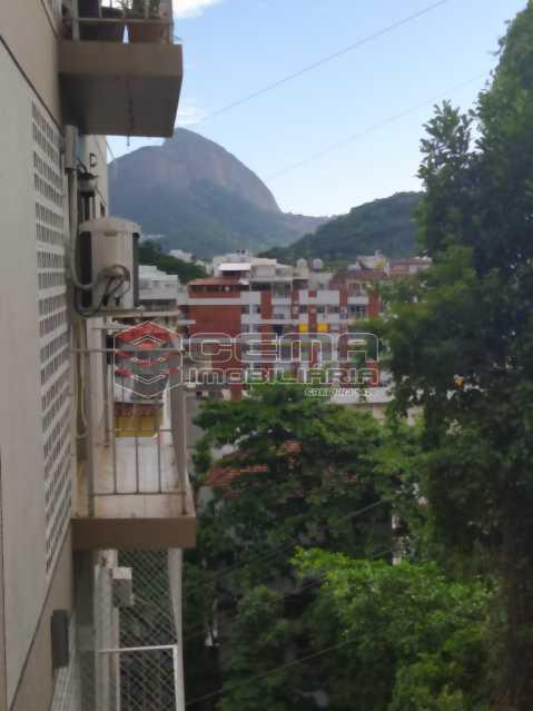 Vista varanda - Apartamento 2 quartos para alugar Jardim Botânico, Zona Sul RJ - R$ 2.400 - LAAP24313 - 5