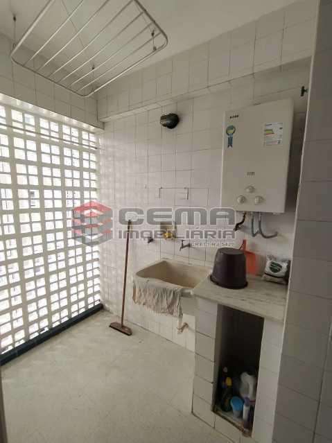 Área de serviço - Apartamento 2 quartos para alugar Jardim Botânico, Zona Sul RJ - R$ 2.400 - LAAP24313 - 22