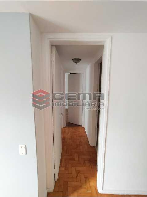 Corredor - Apartamento 2 quartos para alugar Jardim Botânico, Zona Sul RJ - R$ 2.400 - LAAP24313 - 8