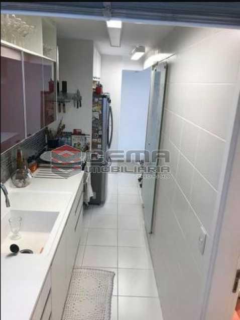 1 - Cobertura à venda Rua Macedo Sobrinho,Humaitá, Zona Sul RJ - R$ 1.850.000 - LACO00058 - 4