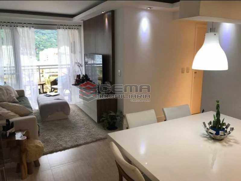 4 - Cobertura à venda Rua Macedo Sobrinho,Humaitá, Zona Sul RJ - R$ 1.850.000 - LACO00058 - 3