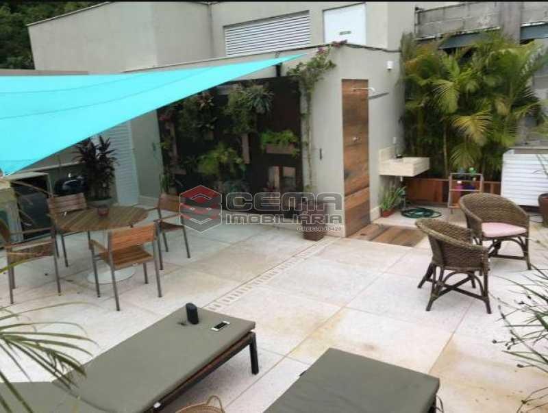 5 - Cobertura à venda Rua Macedo Sobrinho,Humaitá, Zona Sul RJ - R$ 1.850.000 - LACO00058 - 1