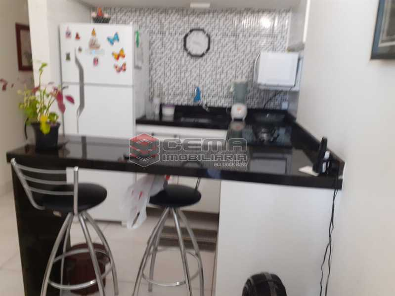 cozinha planejada - Kitnet/Conjugado 30m² à venda Catete, Zona Sul RJ - R$ 370.000 - LAKI10300 - 3