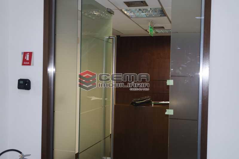 recepção - Sala Comercial 353m² para alugar Flamengo, Zona Sul RJ - R$ 35.306 - LASL00419 - 8