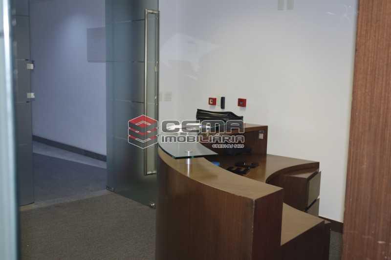 recepção - Sala Comercial 353m² para alugar Flamengo, Zona Sul RJ - R$ 35.306 - LASL00419 - 10