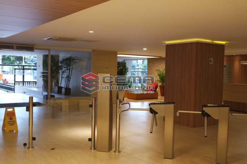 hall prédio - Sala Comercial 353m² para alugar Flamengo, Zona Sul RJ - R$ 35.306 - LASL00419 - 22
