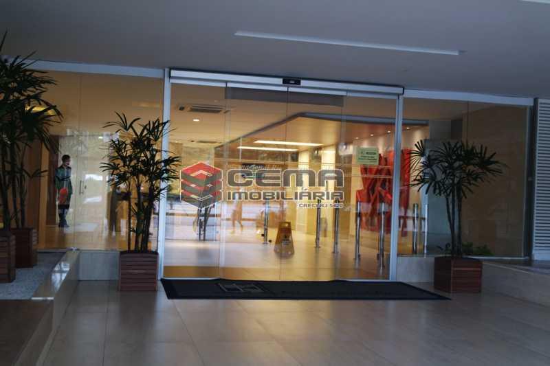 entrada prédio - Sala Comercial 353m² para alugar Flamengo, Zona Sul RJ - R$ 35.306 - LASL00419 - 24