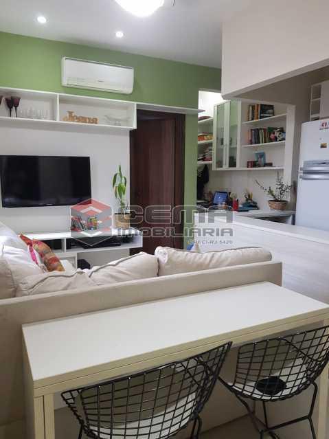 sala - Apartamento 1 quarto à venda Glória, Zona Sul RJ - R$ 480.000 - LAAP12480 - 3