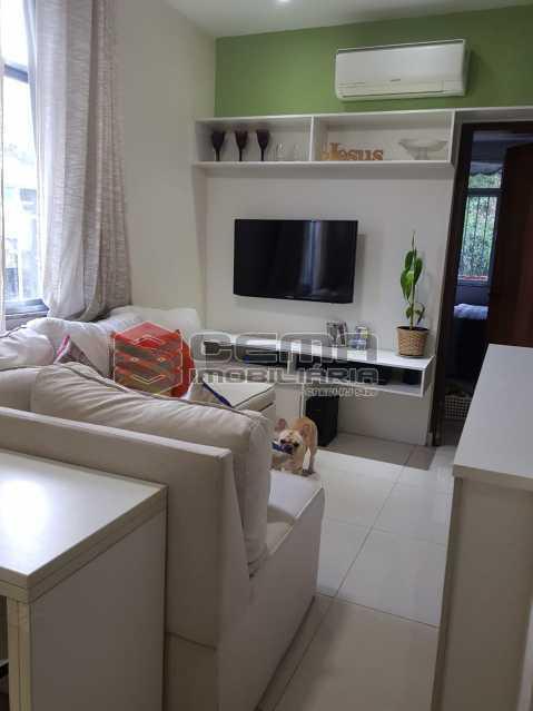 sala - Apartamento 1 quarto à venda Glória, Zona Sul RJ - R$ 480.000 - LAAP12480 - 4