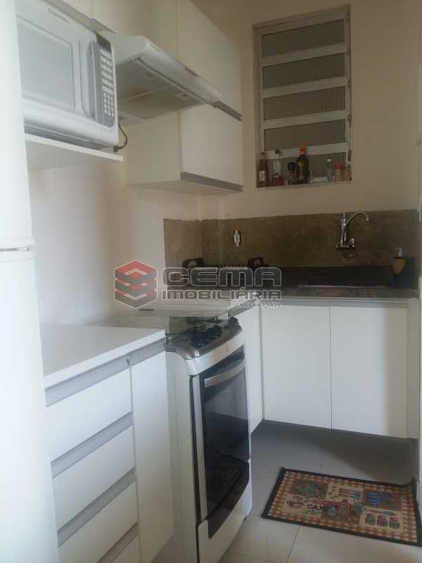 cozinha - Apartamento 1 quarto à venda Glória, Zona Sul RJ - R$ 480.000 - LAAP12480 - 9