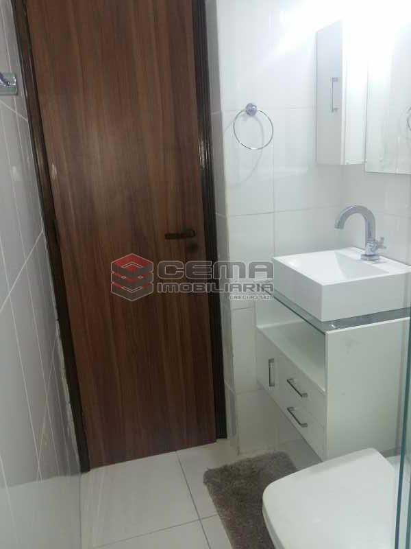 banheiro - Apartamento 1 quarto à venda Glória, Zona Sul RJ - R$ 480.000 - LAAP12480 - 7