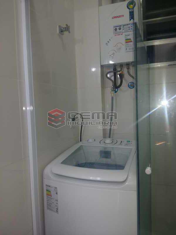 banheiro - Apartamento 1 quarto à venda Glória, Zona Sul RJ - R$ 480.000 - LAAP12480 - 8