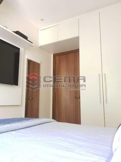 quarto - Apartamento 1 quarto à venda Glória, Zona Sul RJ - R$ 480.000 - LAAP12480 - 5