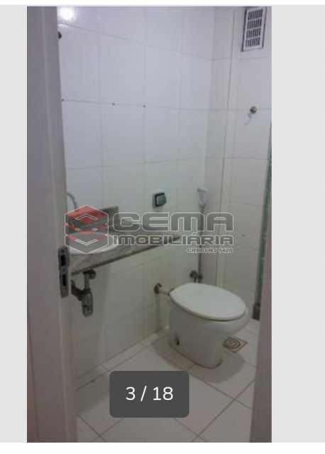 Banheiro social - Apartamento 3 quartos para alugar Laranjeiras, Zona Sul RJ - R$ 2.900 - LAAP33791 - 15